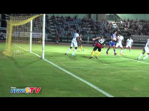 Highlights: Phuket FC VS Siracha (2014 Mar 26)