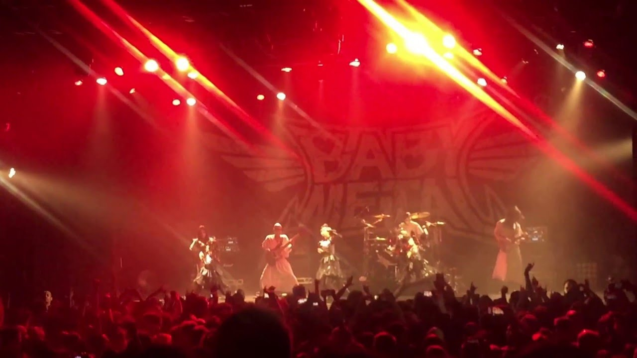 babymetal karate live the playstation theater nyc 5 4 2016