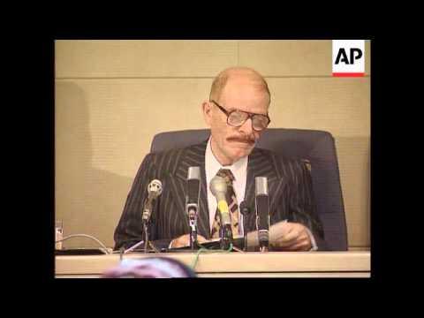 Iraq - Saddam Hussein's Referendum Landslide