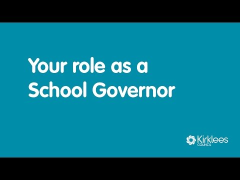 School Governor Welcome - Kirklees Council