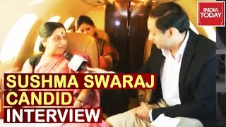 Watch Sushma Swaraj Talk Candidly To Rahul Kanwal On Her Political Journey | India Today Exclusive