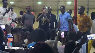 Deng Matoto live performance in South Sudan hotel night show, Friday show