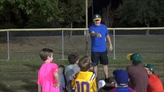 "Little League Practice Speech - ""There is no I in team, but..."""