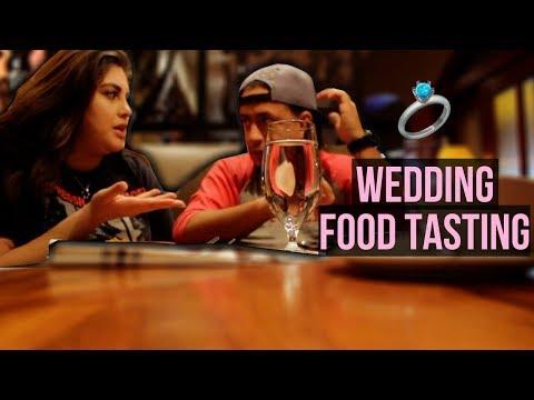 Wedding Food Taste Test | Churrascos | South American Food