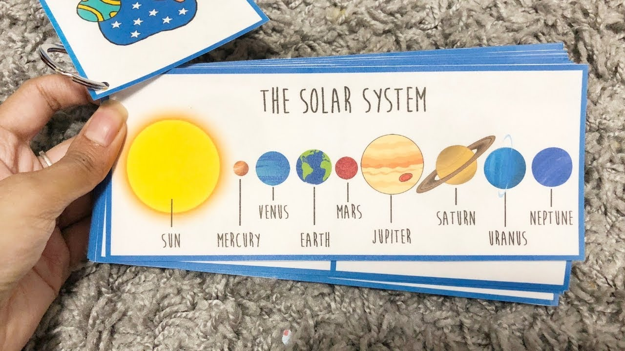 The Solar System Activity Book Fun Activities For Toddlers