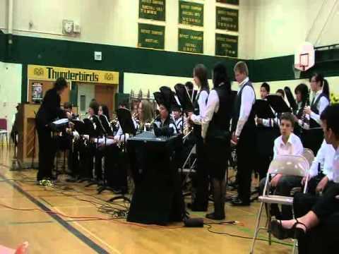 TOTEM JAZZ BAND--Totem Middle School Part I--(Live) 2011