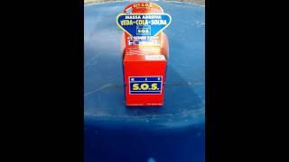 Tapando furo em caixa d'agua de polietileno/plástico.