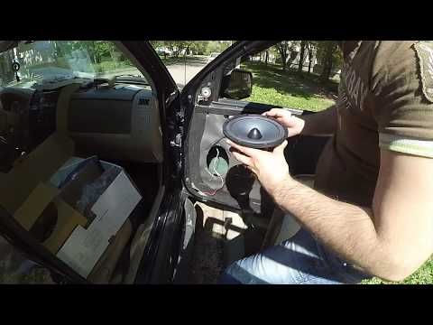 Меняем штатную акустику USA Ford Escape 2008 г.в.