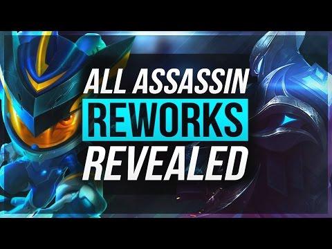 6 NEW ASSASSIN REWORK CHAMPS REVEALED! | Big Stealth Changes – League of Legends