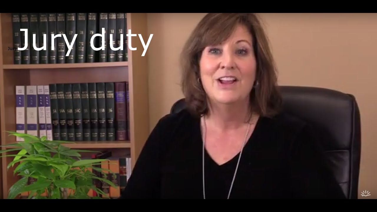 How Jury Duty works  Video #1 of the series