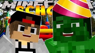 Minecraft School -  BULLY RUINS HULKS BIRTHDAY!