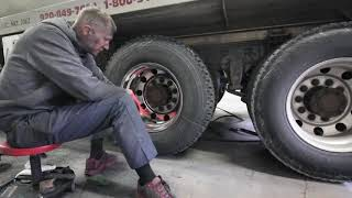 How to polish a drive wheel mounted on a truck - In Depth Evan's Detailing and Polishing