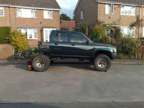 Modified Toyota Hilux Pickup Rear Coil Spring Conversion