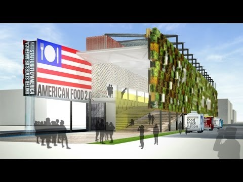 USA Pavilion at Expo Milan 2015