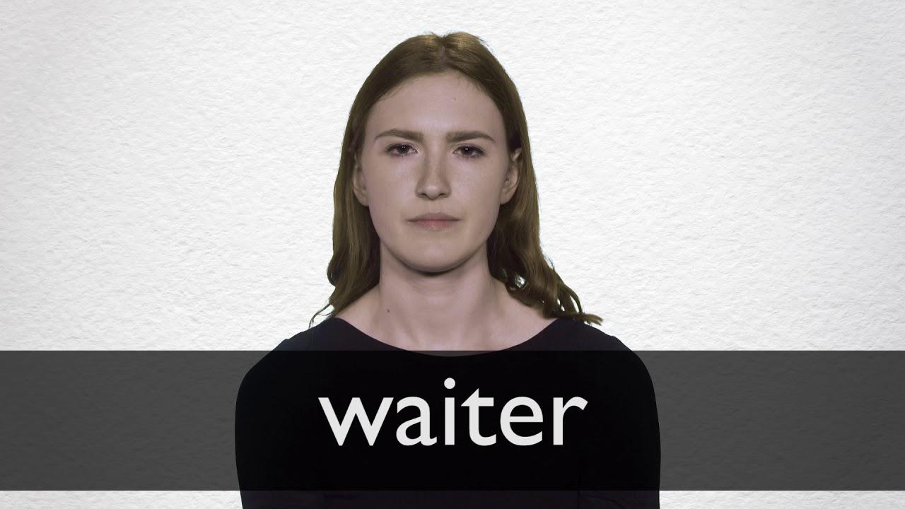Waiter Definition und Bedeutung  Collins Wörterbuch