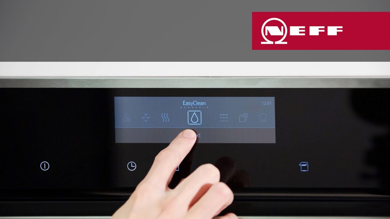 Neff Backofen Tft Display Mit Fulltouch Control By Neff Hausgeraete