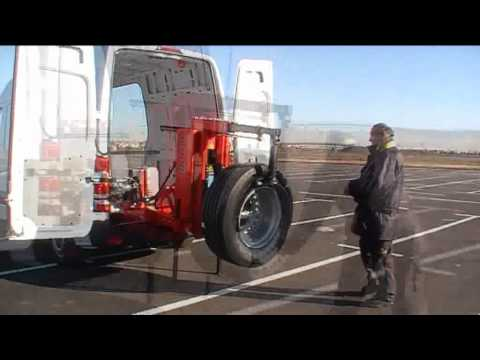 Nav26hw T Butler Mobile Truck Tyre Changer Youtube