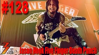Ep. 128 N Jason Hook from Five Finger Death Punch Talks KISS & Ace Frehley