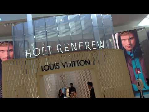 Expensive Stores at Yorkdale Mall Toronto Canada