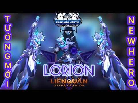Lorion Chiến giáp hắc ám | AoV | Liên quân mobile garena arena of valor mùa 16