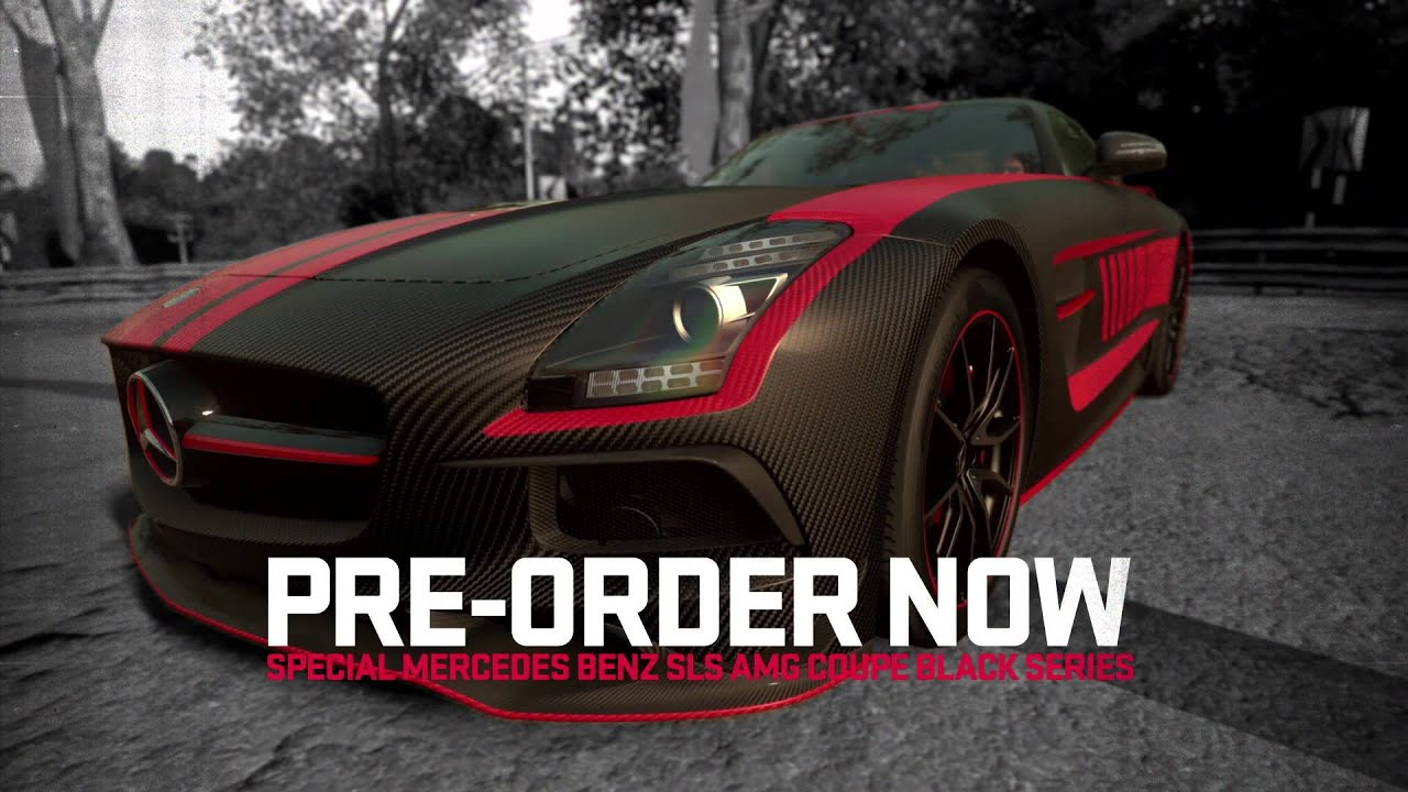 DRIVECLUB Pre Order Offer 1 Special Mercedes SLS AMG Coupe Black Series Pack