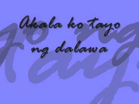 Di na ako iibig pang muli (APRIL BOY REGINO)  lyricks