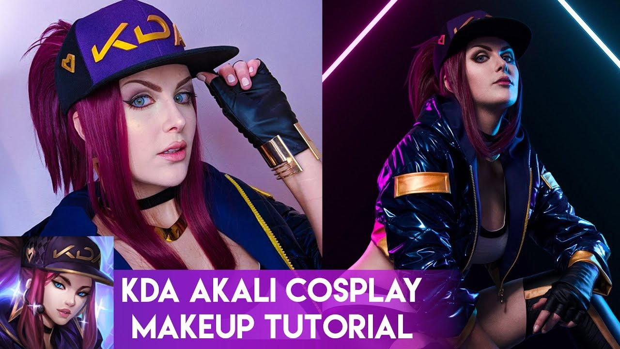 The Diy Guide To Cosplaying Akali Of League Of Legends Shecos Blog