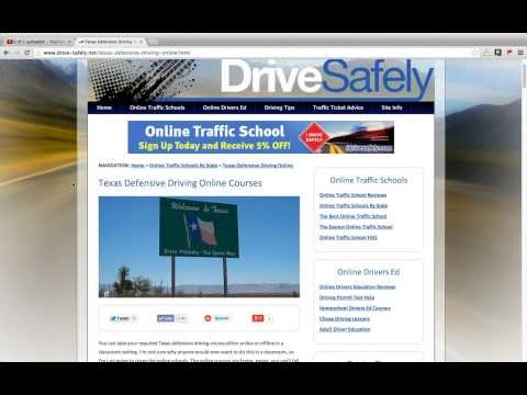 Texas Online Defensive Driving Course Reviews