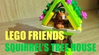 Lego Friends Squirrel's Tree House Series 1 Playset - Toy Review 011 Jennifer Mulkerrin