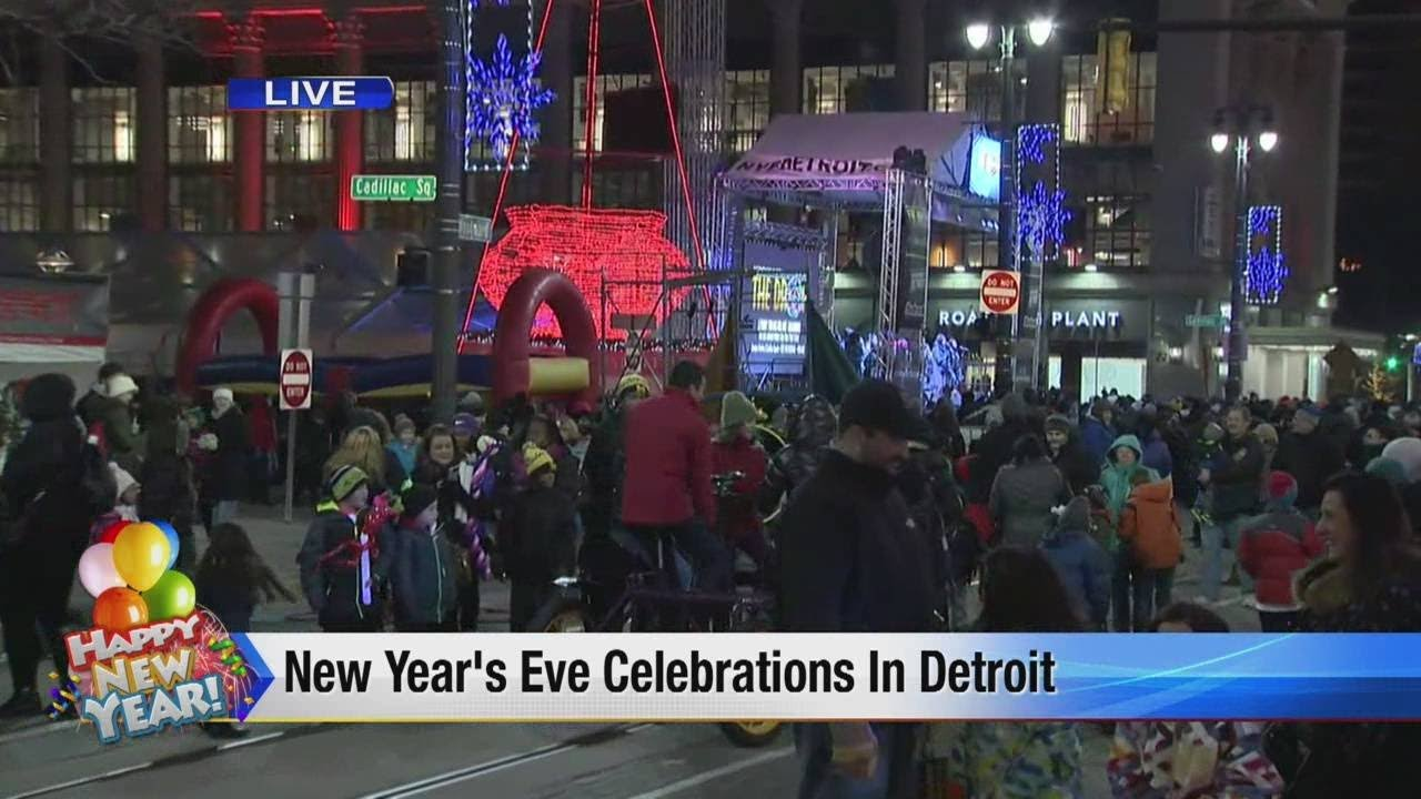 New Year's Eve in Detroit - YouTube
