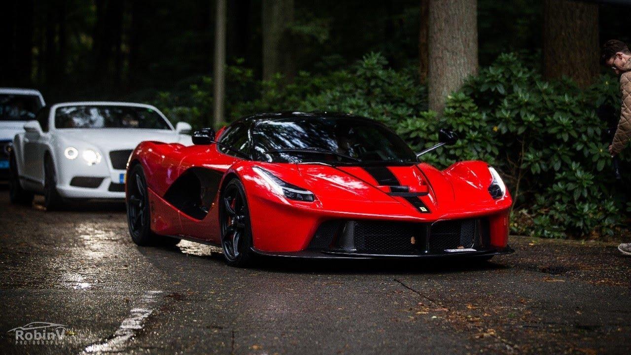 Supercars Arriving @Cars & Business - LaFerrari, Veyron, Aventadors, Olsson Huracán.. - LOUD Sou