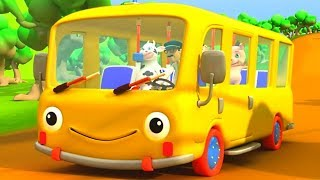 Wheels on the Bus 🚌 Nursery Rhymes for Children | Kids Music Videos | Baby Songs