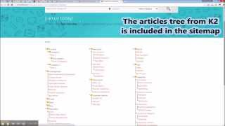 JSitemap Professional - Basic steps guide