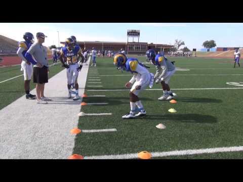 ASU Football Fall Camp - Cornerback Drills