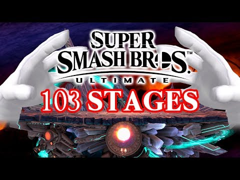 Smash Bros. Ultimate 103 Stages Analysis!