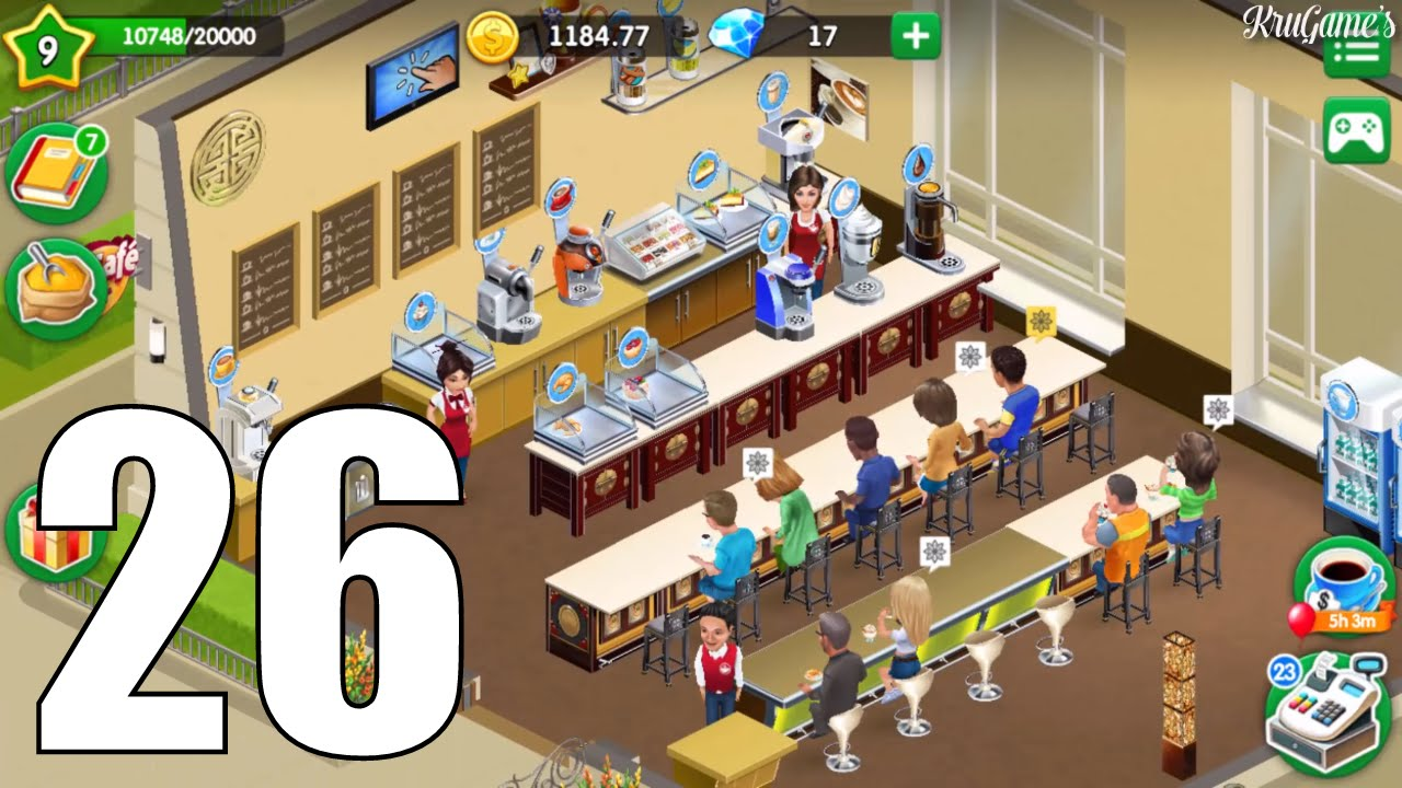 My Cafe: Recipes & Stories Android Gameplay #26 Level 9