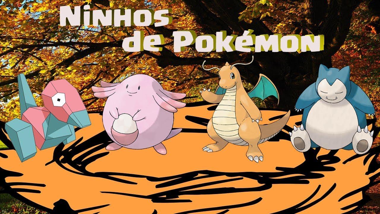 Como escanear e rastrear Ninhos de pokemon Raro! Pokémon go.