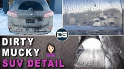 Deep Cleaning a Mom's DIRTY SUV | Complete Transformation and Satisfying Car Detailing!