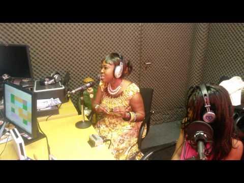 Pepertual Donkor ,Ghana Gospel Artist interview at Abibiman Radio uk(2)