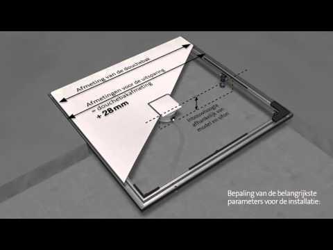 kaldewei frame voor inbouwsysteem esr ii nederlands youtube. Black Bedroom Furniture Sets. Home Design Ideas