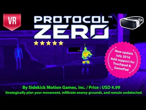 Protocol Zero Gear VR - Strategically plan your movement, infiltrate enemy grounds & stealth.