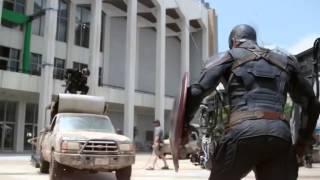 Съемки фильма Первый Мститель  Противостояние Гражданская война