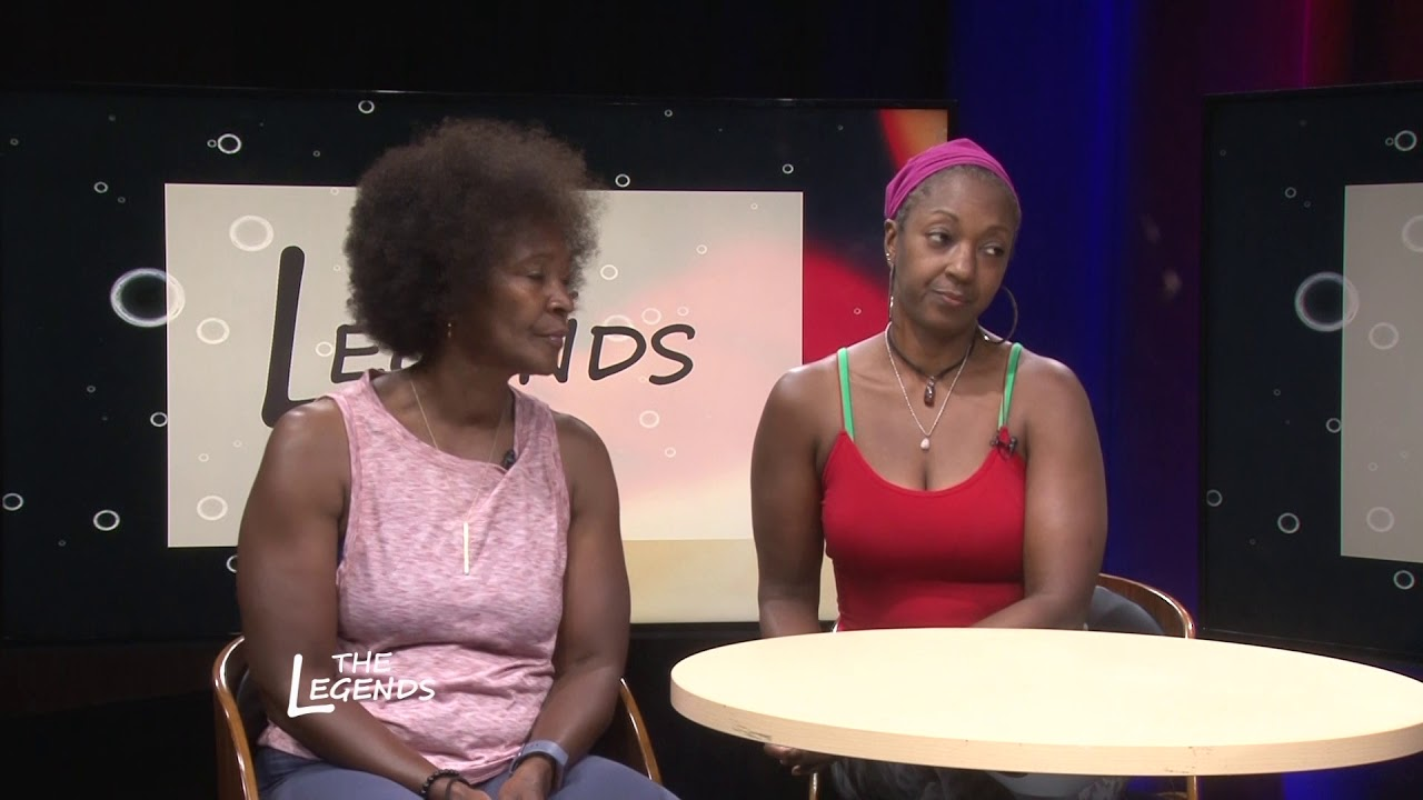 TYRONE LOWE HOST AND INTERVIEWS  ALLISON BOYD & TIA GIST ON THE LEGENDS
