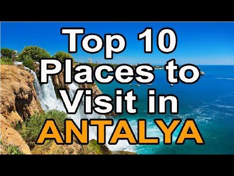 Top 10 places to visit in Antalya Turkey