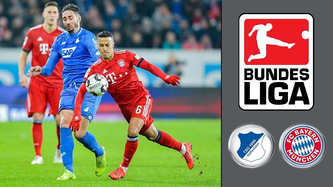 TSG 1899 Hoffenheim vs FC Bayern München ᴴᴰ 18.01.2019 ...