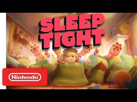 Sleep Tight Release Date Trailer - Nintendo Switch