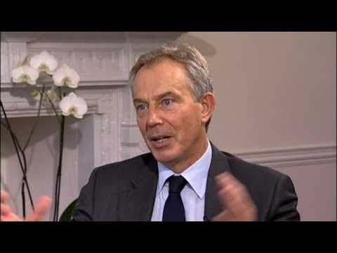 "Interview with Tony Blair: ""I'm a controversial politician"""