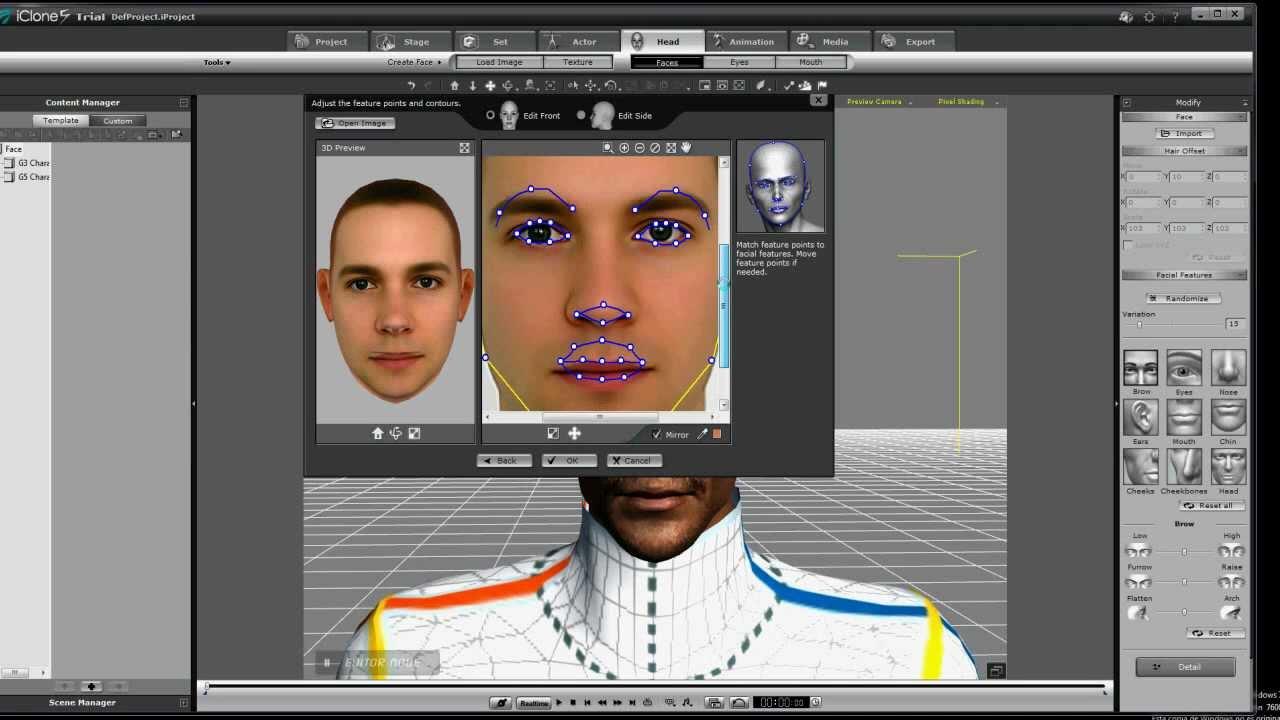 Como crear una cabeza en 3d apartir de una imagen en 2d - Programas para 3d ...