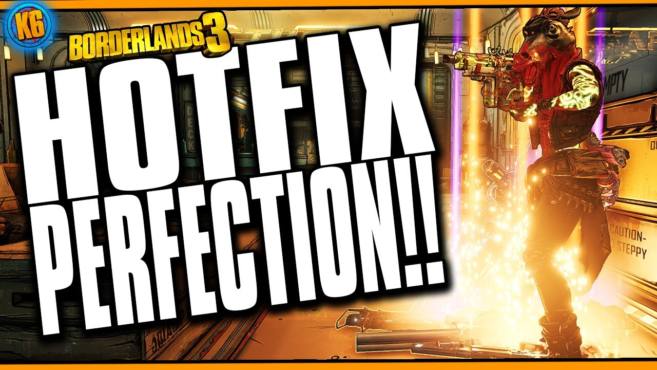 THEY DID IT!!! - HOTFIX NOTES - January 30, 2020 [Borderlands 3] thumbnail