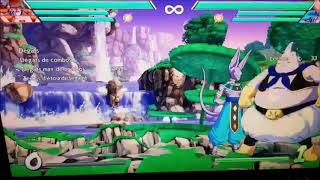 DBFZ : Early Fat Boo setplay/combos